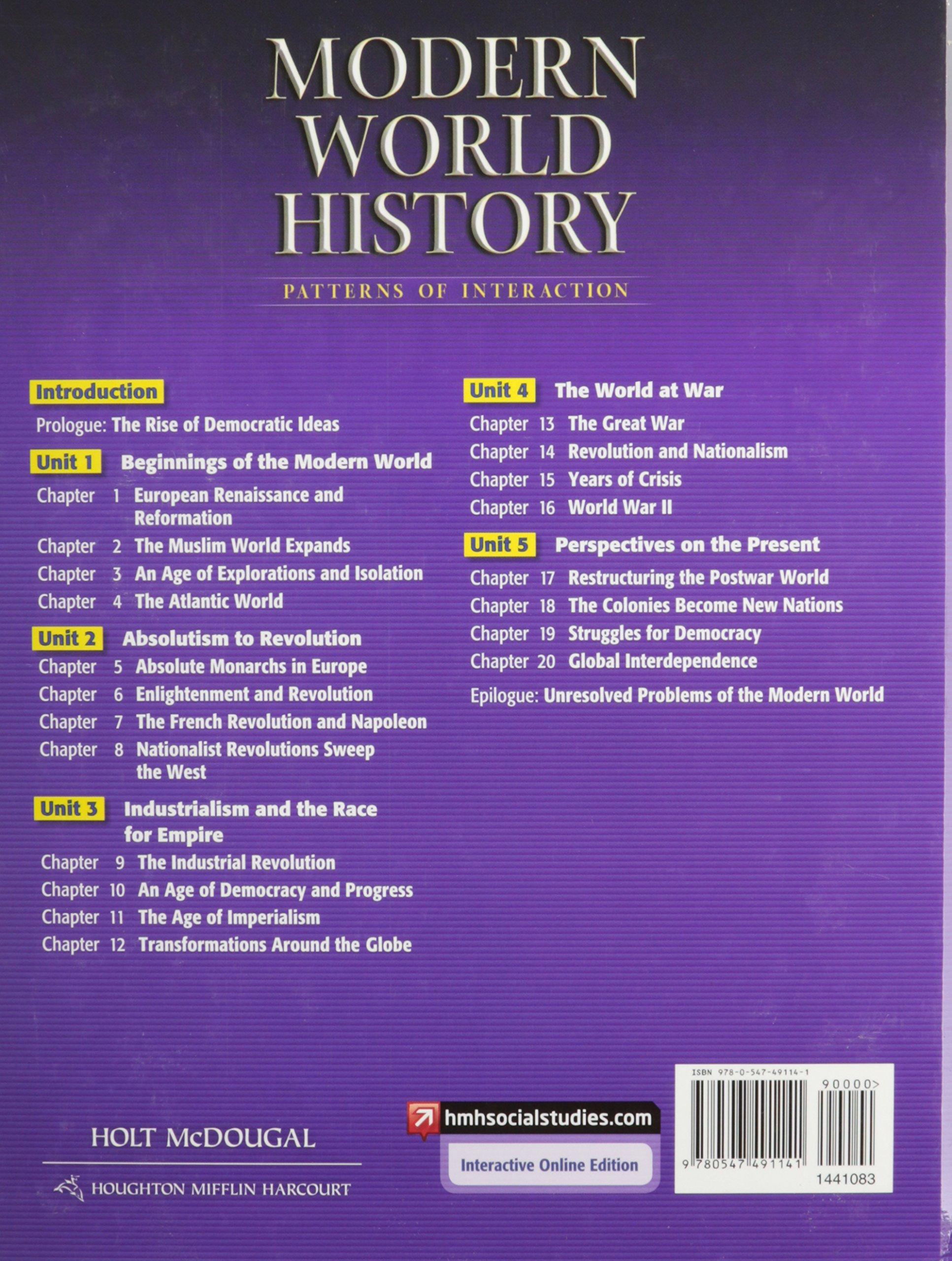 Modern World History Textbook Holt Mcdougal Pdf