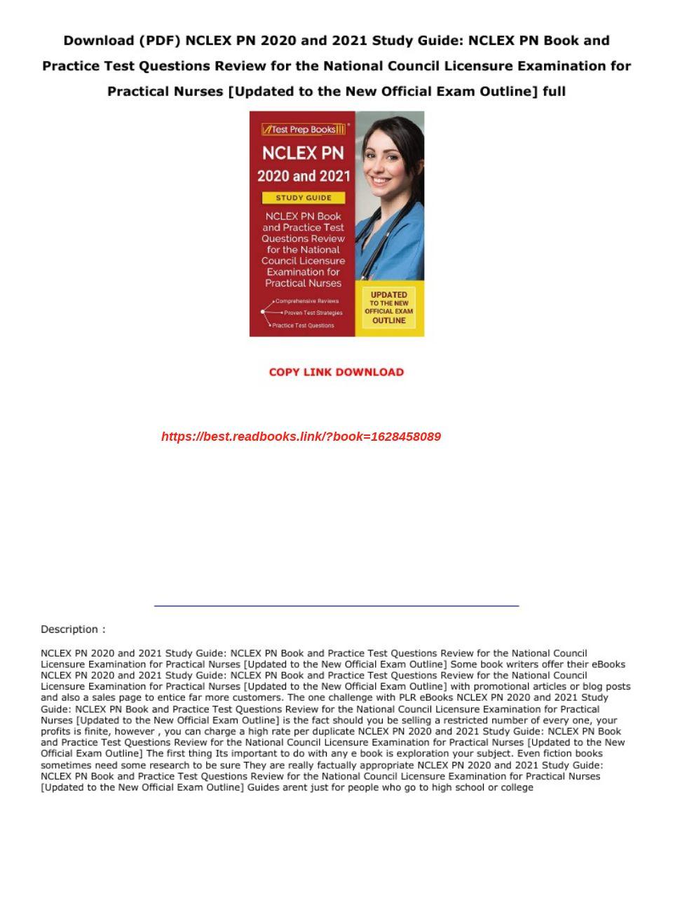 Nclex Pn Study Guide Pdf 2020