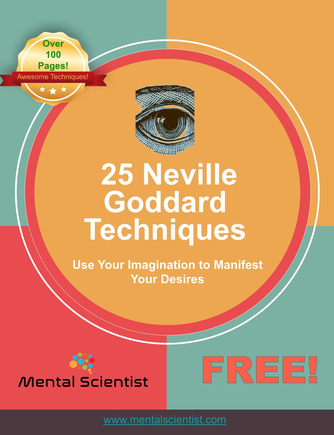 Neville Goddard Techniques Pdf