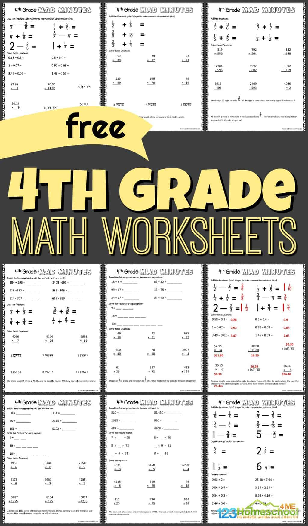 Parcc Practice Worksheets Pdf 4th Grade