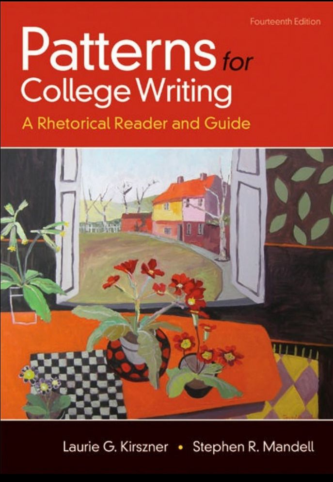 Patterns For College Writing 14th Edition Pdf