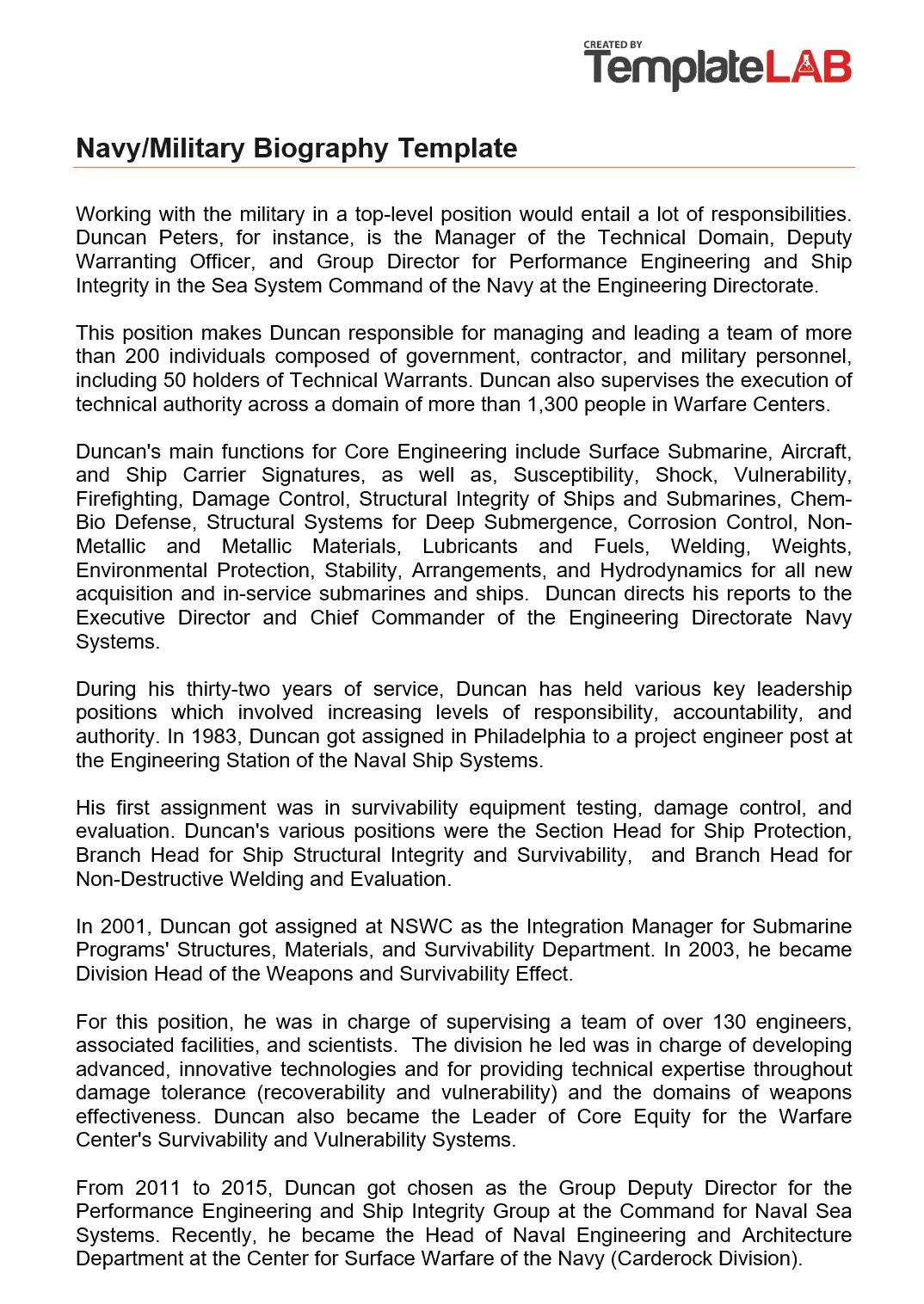 Pdf Navy Eval Template