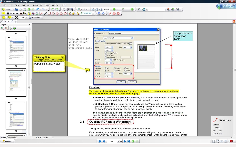 Pdf Xchange Editor Free Vs Pro