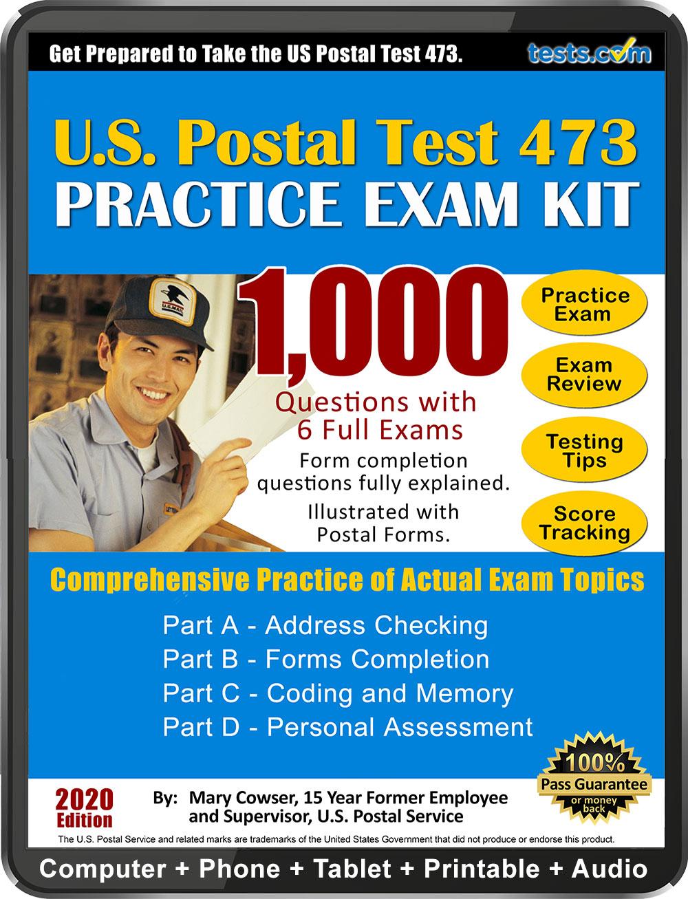 Postal Exam 473 Study Guide Pdf Free 2020