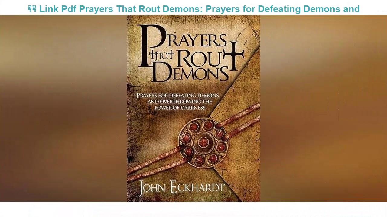 Prayers That Rout Demons Pdf