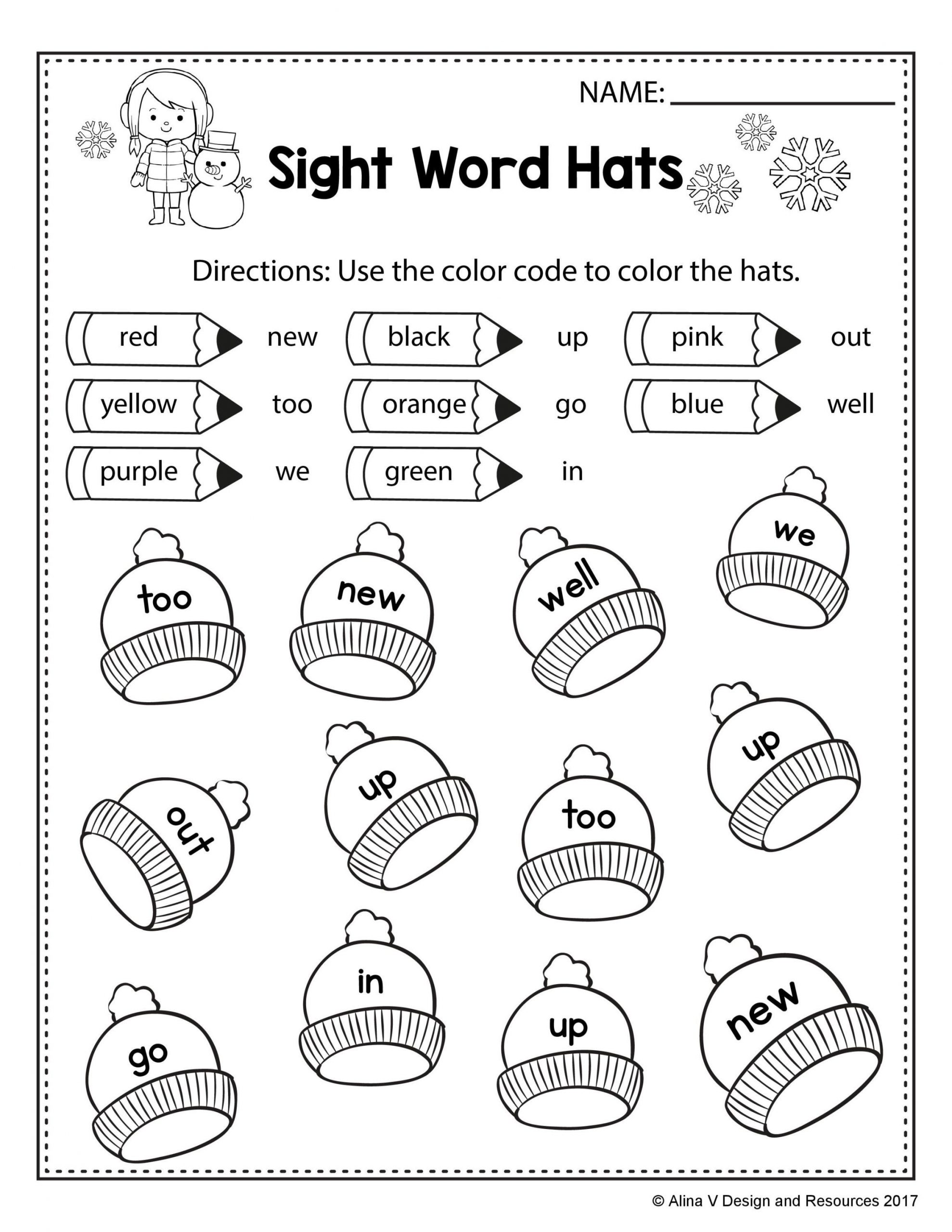 Printable Dolch Sight Words Pdf