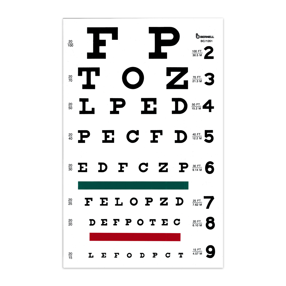 Snellen Chart Pdf Download