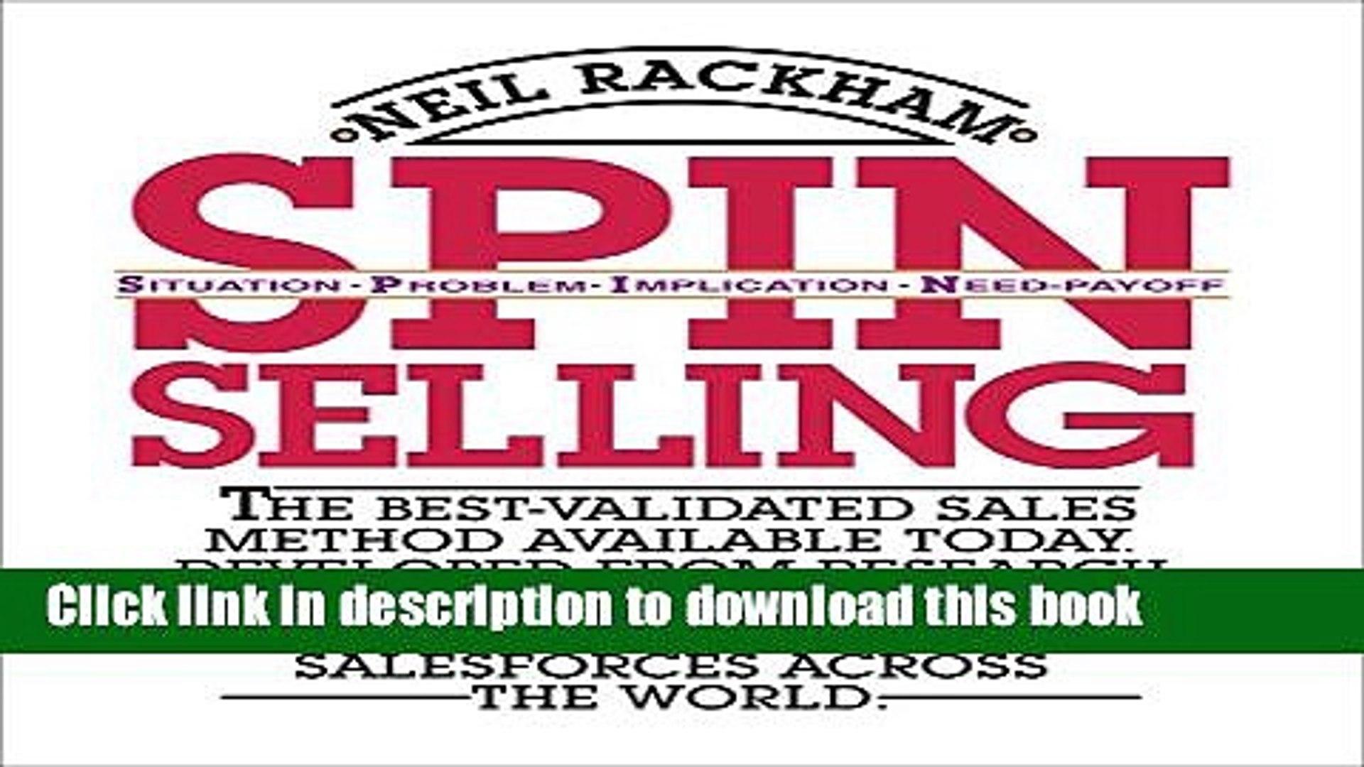 Spin Selling Pdf