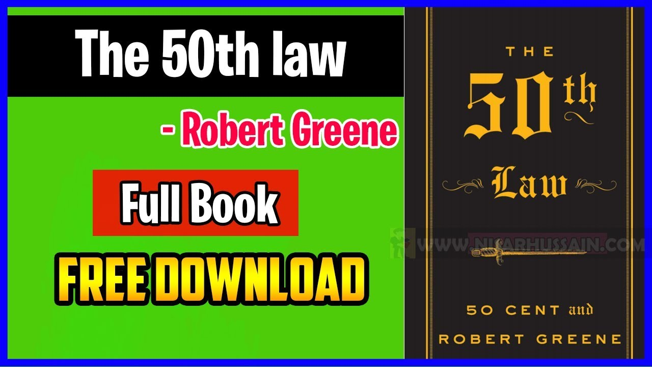 The 50th Law Pdf Free Download