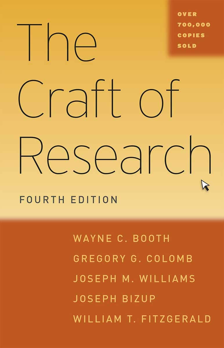 The Craft Of Research Pdf
