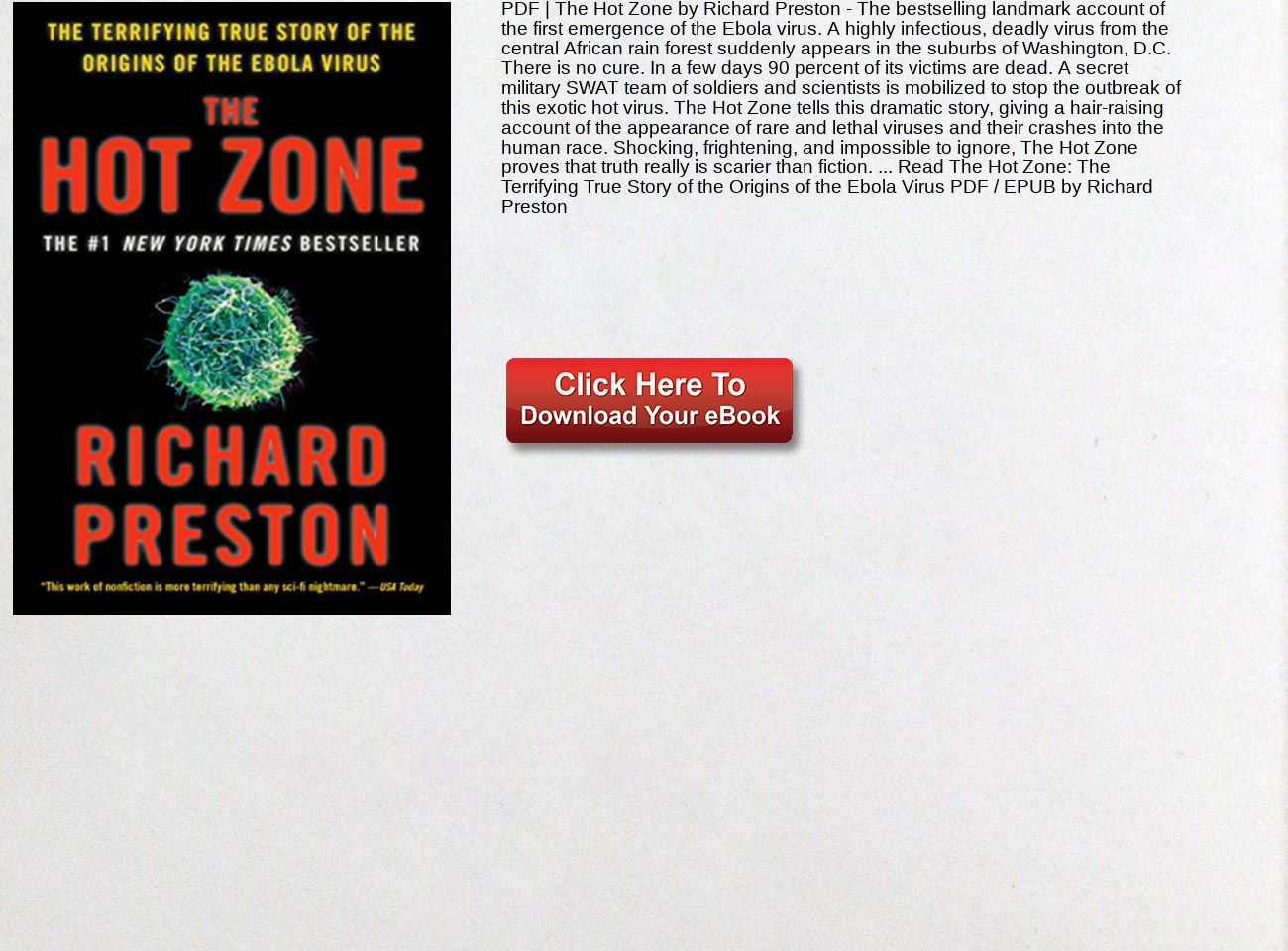 The Hot Zone Pdf