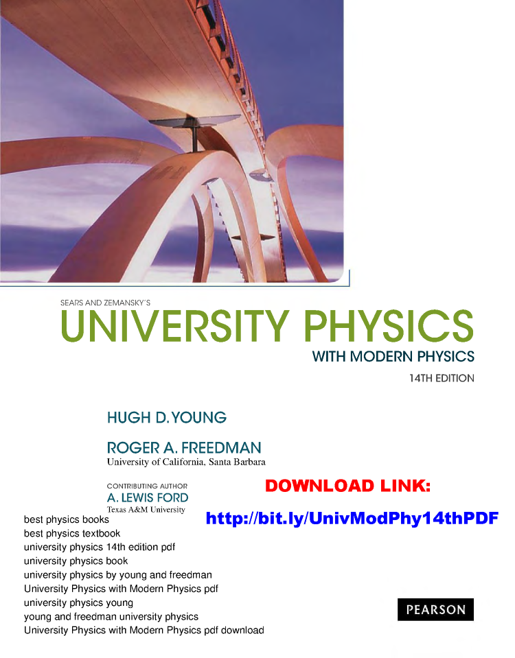 University Physics 14th Edition Pdf