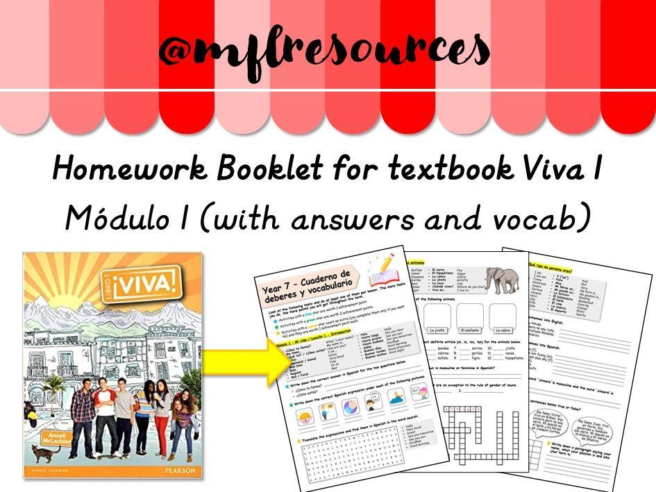 Viva 2 Spanish Textbook Pdf