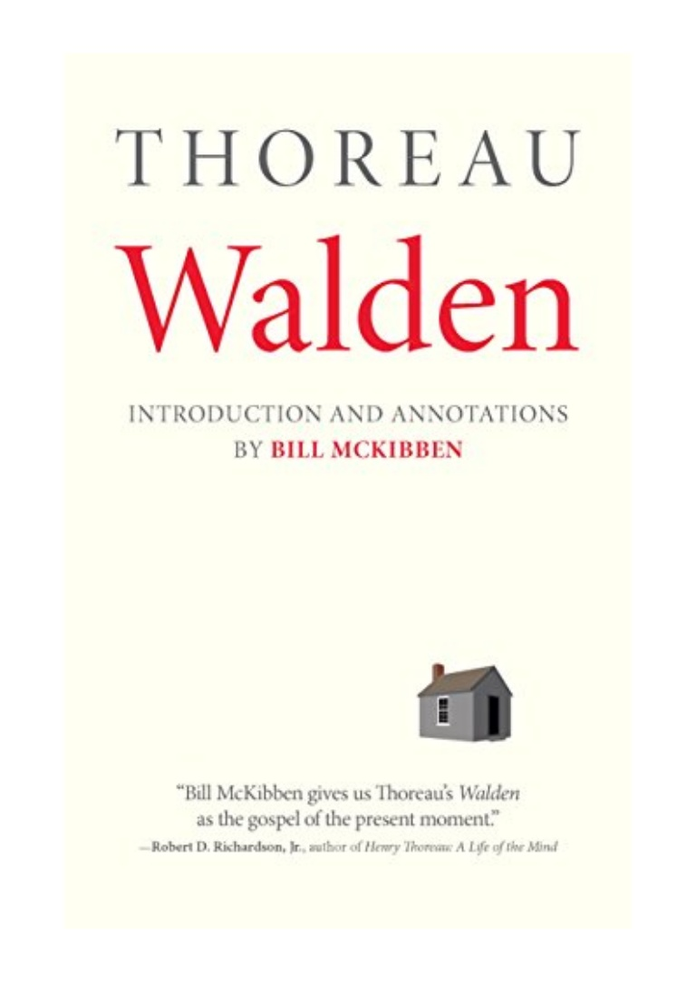 Walden Henry David Thoreau Pdf