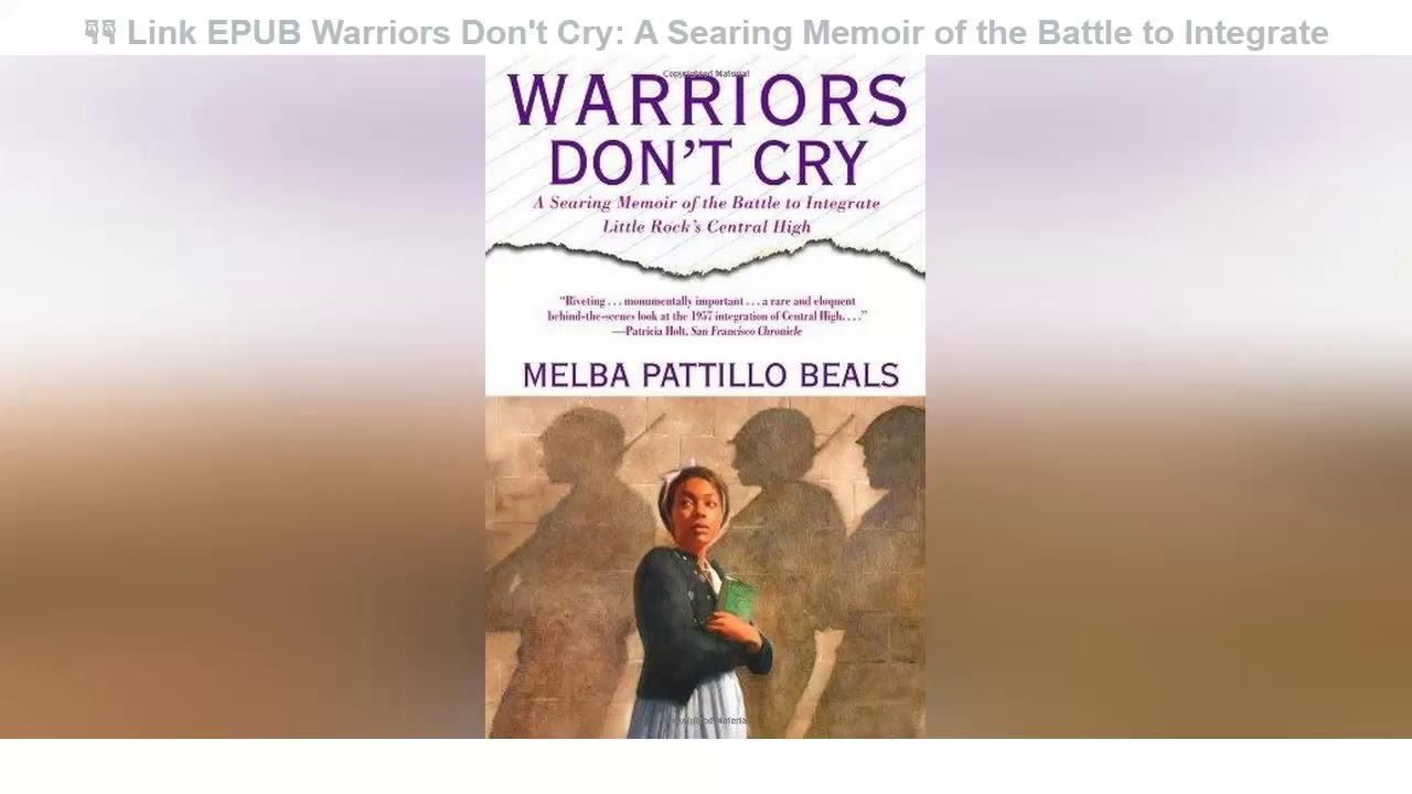 Warriors Don T Cry Pdf