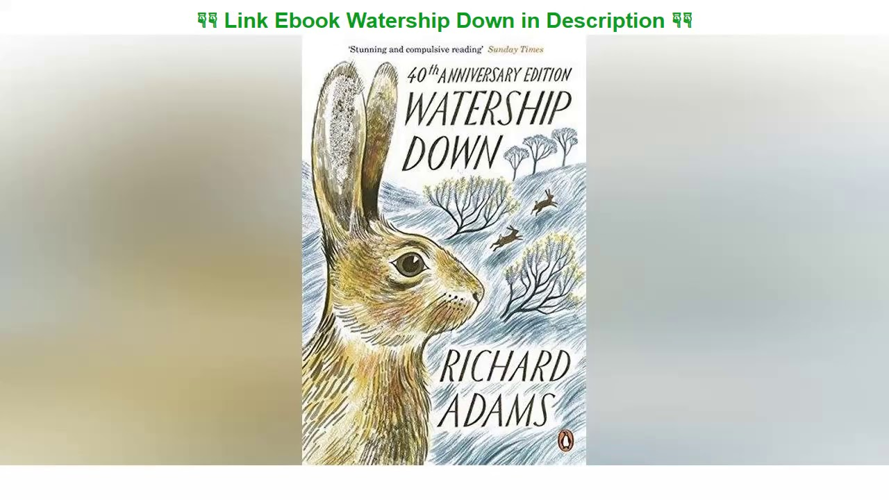 Watership Down Book Pdf