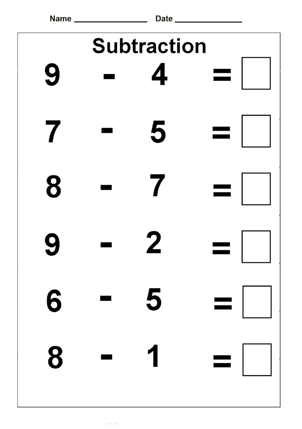 1st Grade First Grade Math Worksheets Pdf