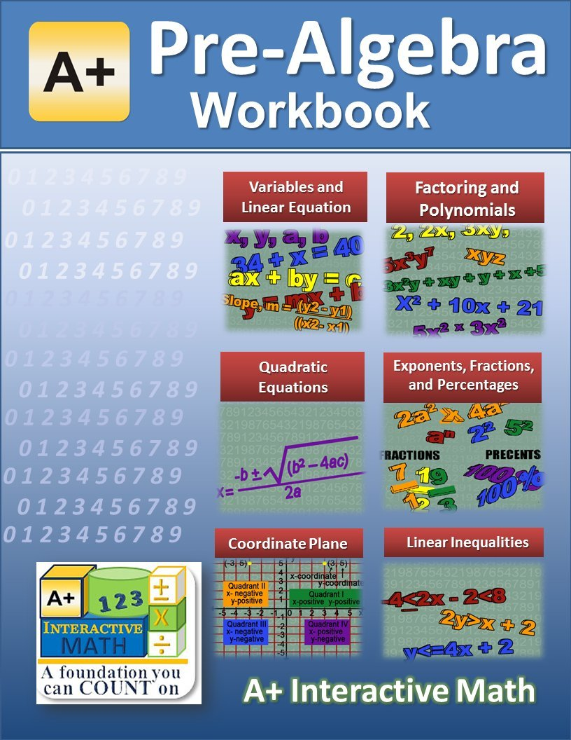 8th Grade Pre Algebra Worksheets Pdf
