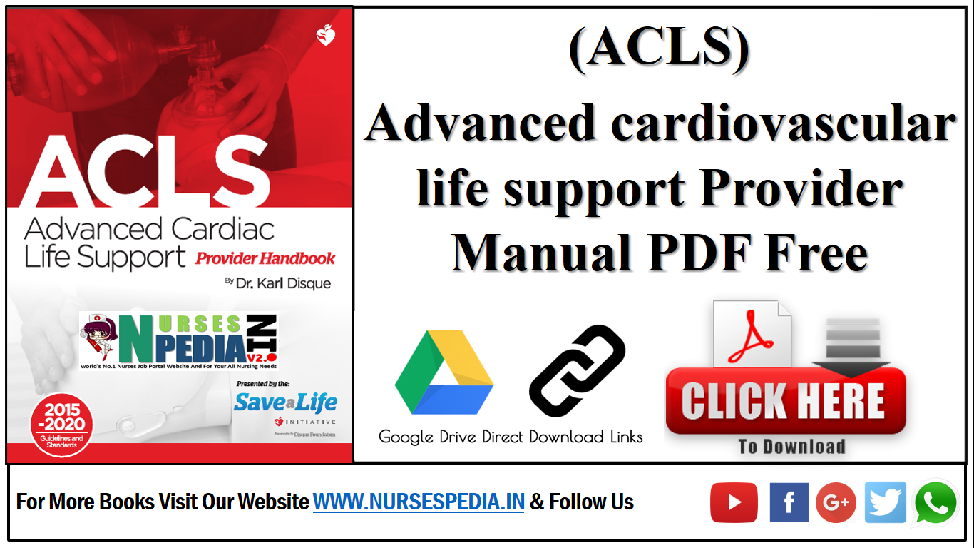 Acls Provider Manual Pdf 2015 Free Download