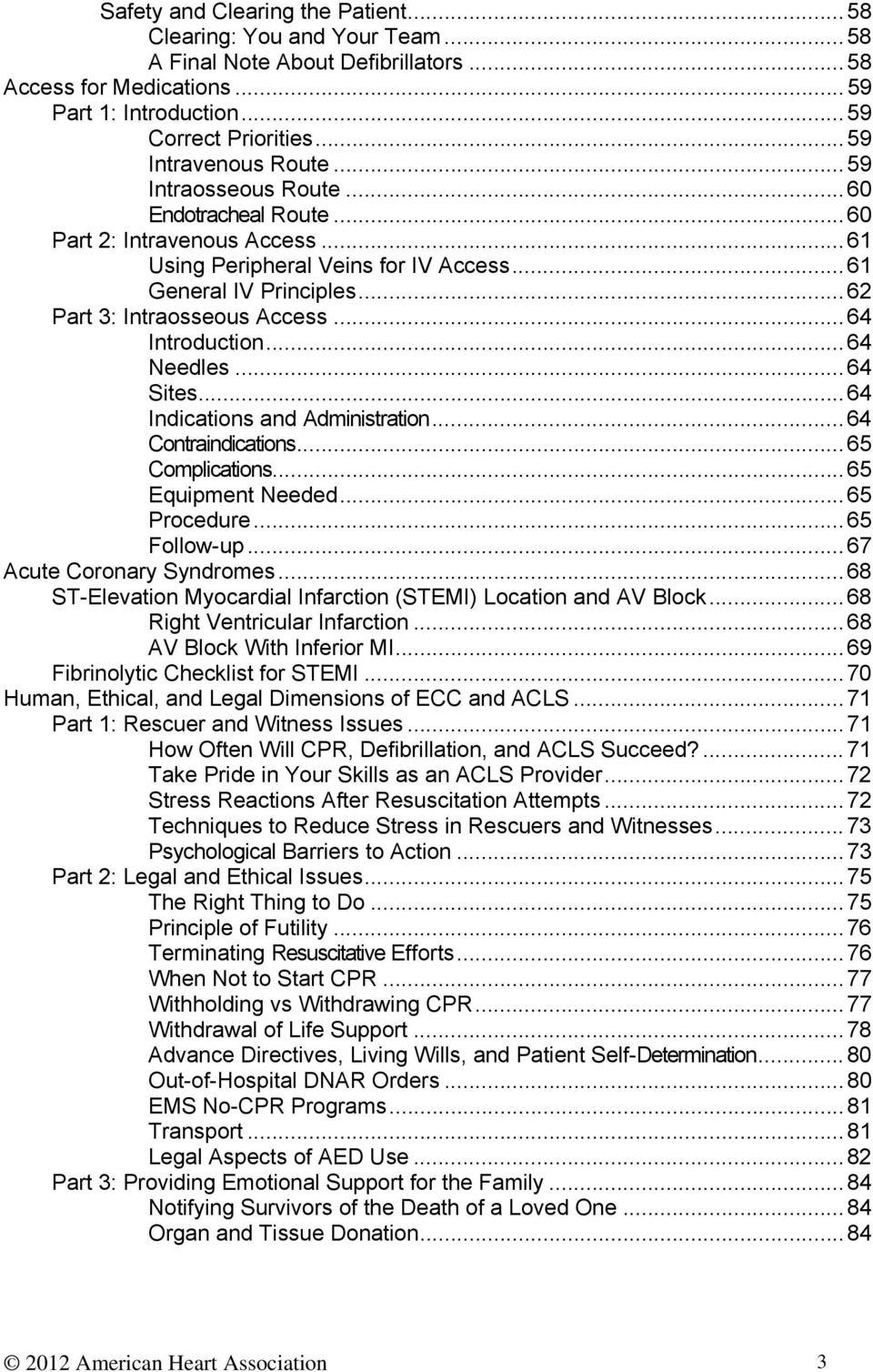 Acls Provider Manual Pdf Free