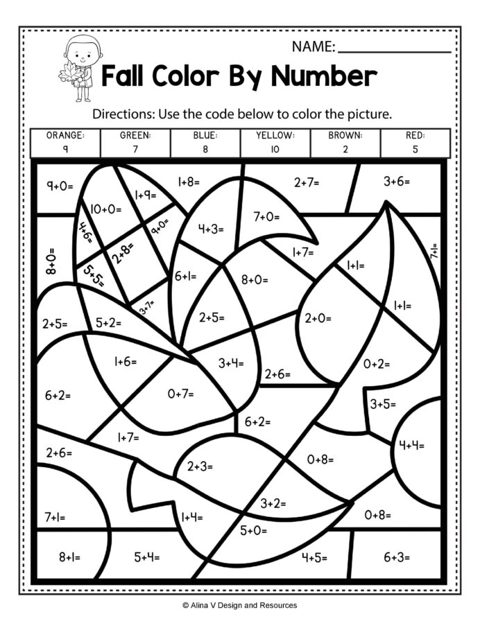 Addition First Grade Math Worksheets Pdf