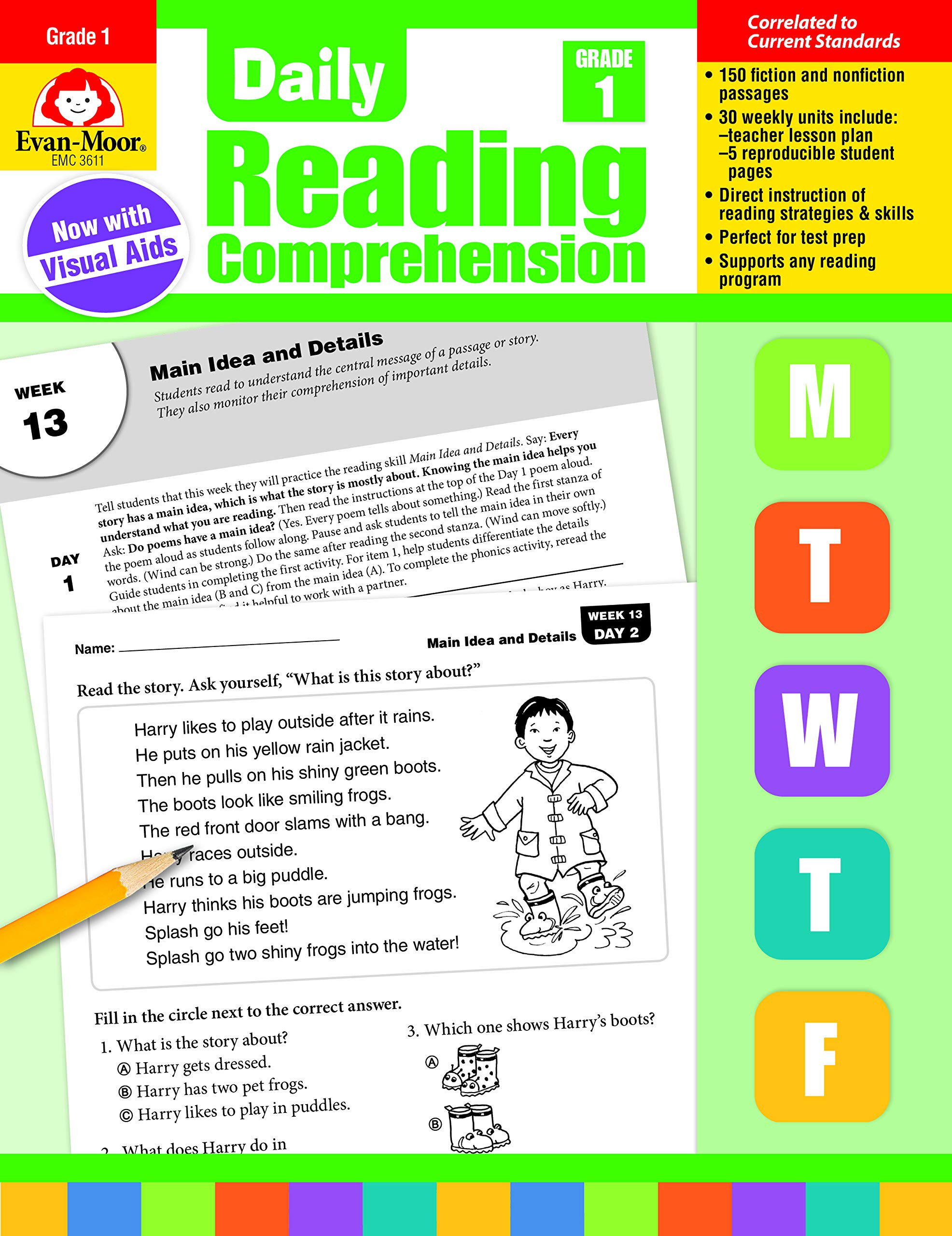 Answer Key Daily Reading Comprehension Grade 4 Pdf