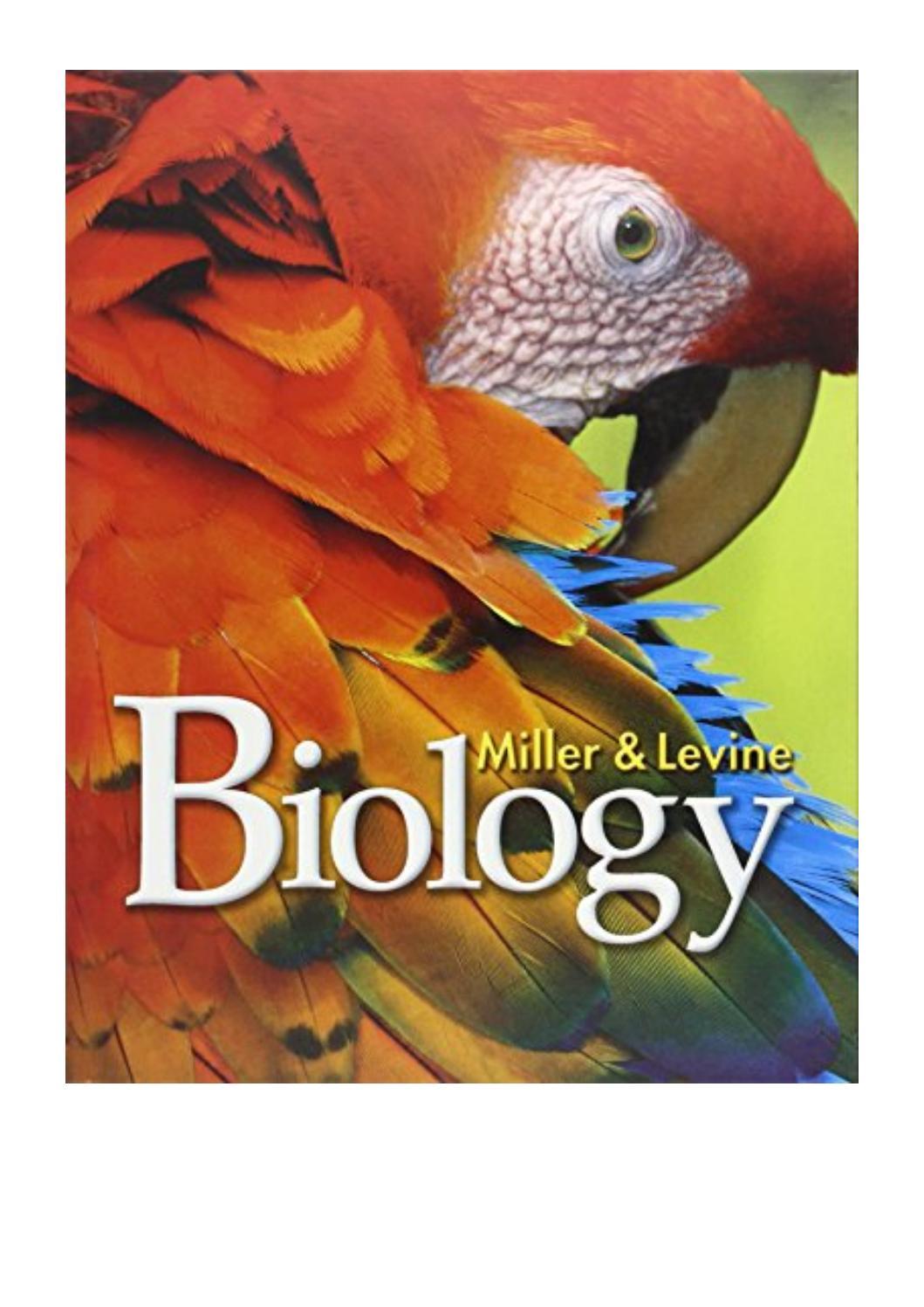 Biology Textbook Miller And Levine Pdf Online