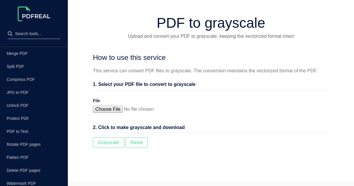 Convert Pdf To Grayscale Online Free