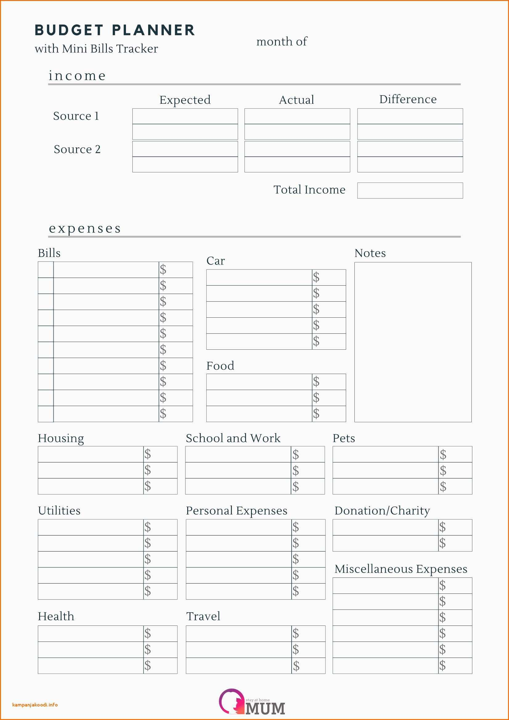 Dave Ramsey Budget Spreadsheet Excel Free 50 Unique Free Printable Bud Worksheets Dave Ramsey Documents