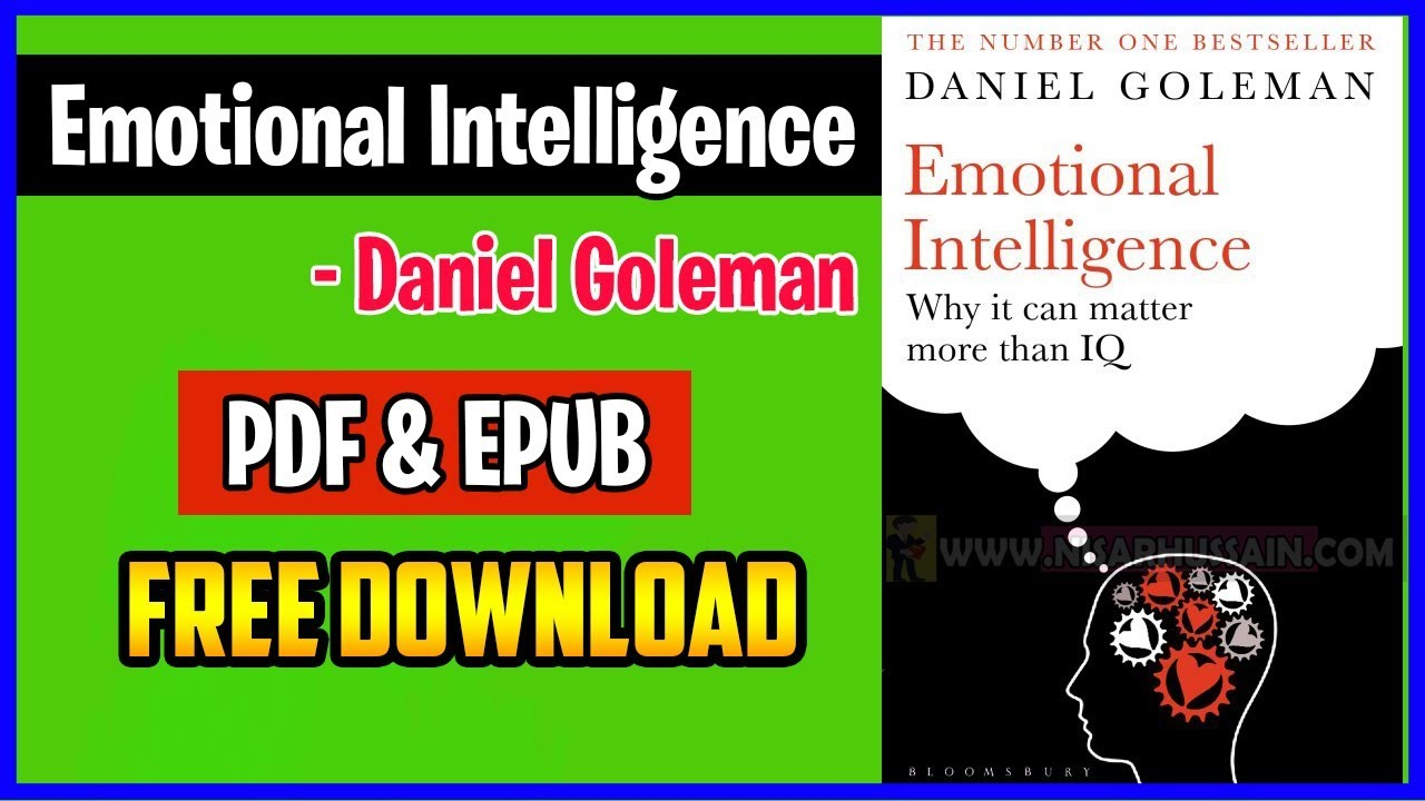 Emotional Intelligence Book Daniel Goleman Pdf