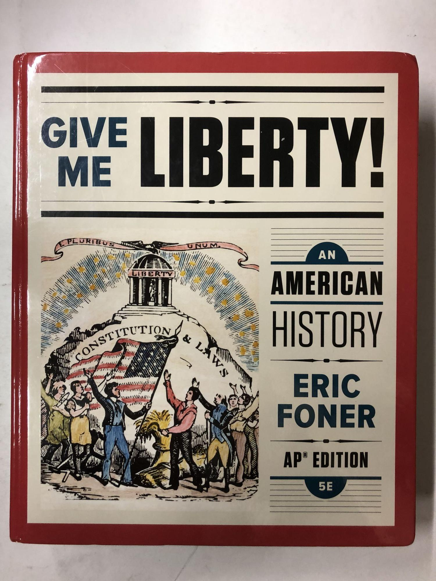 Eric Foner Give Me Liberty Pdf