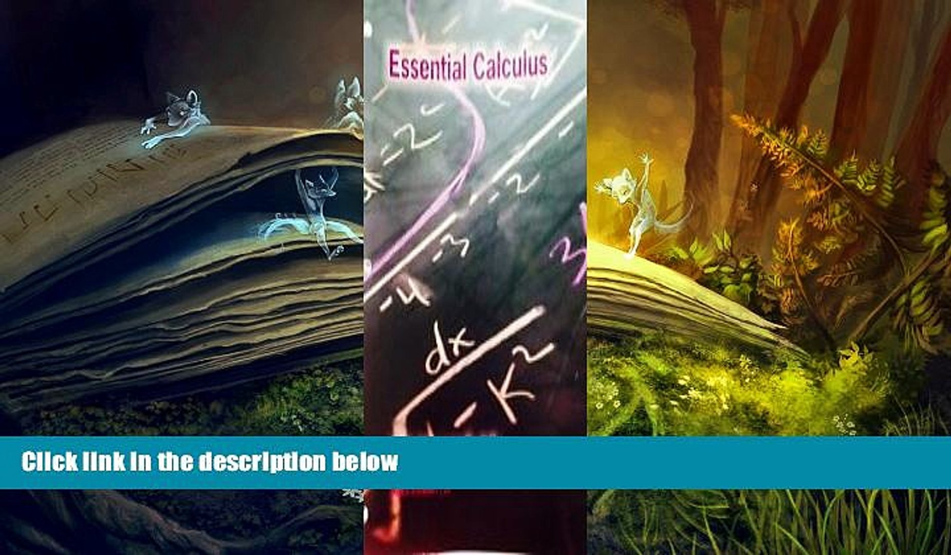 Essential Calculus 2nd Edition Pdf