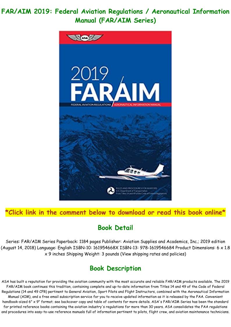 Far Aim 2019 Pdf
