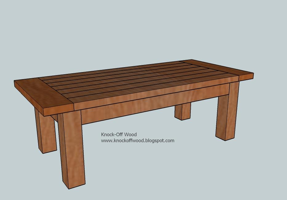 Farmhouse Coffee Table Plans Pdf