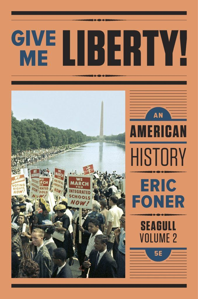 Give Me Liberty Eric Foner Pdf Volume 2