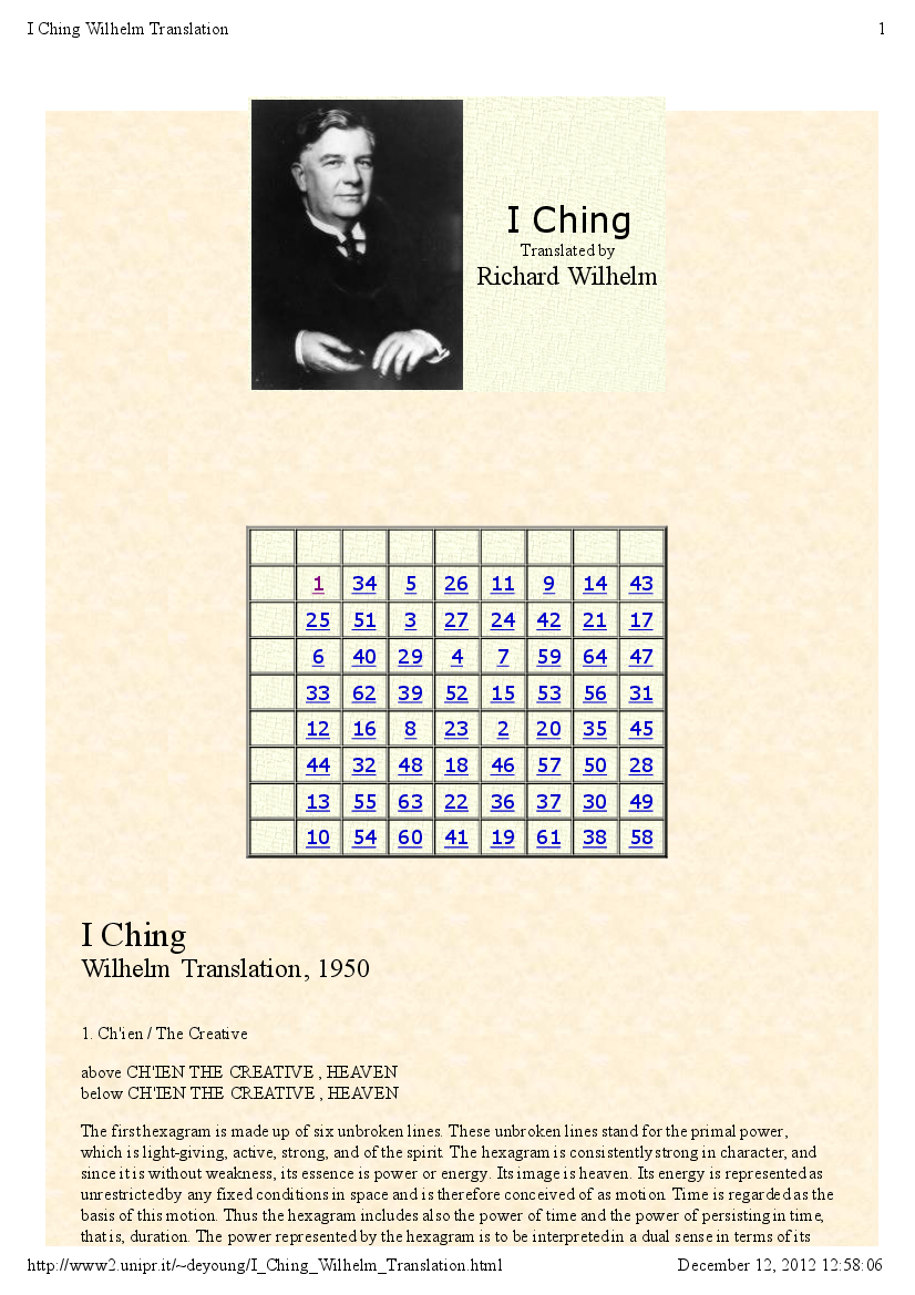 I Ching Pdf