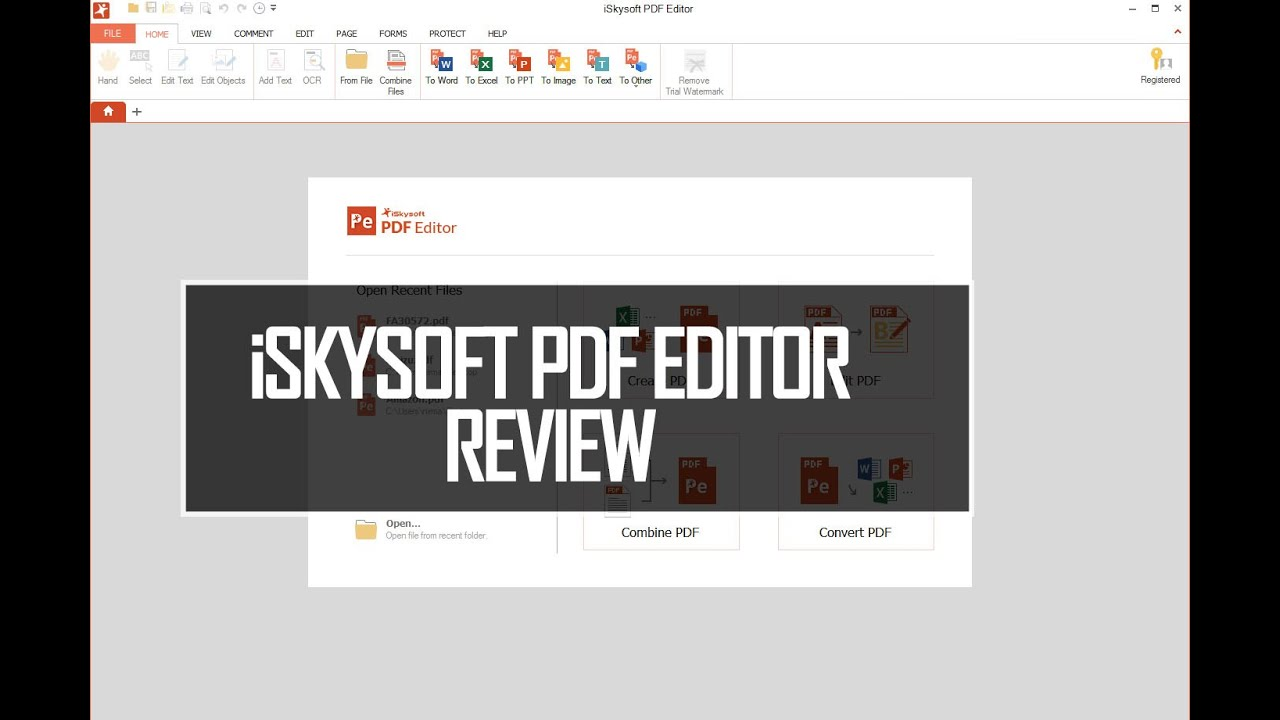 Iskysoft Pdf Editor For Windows