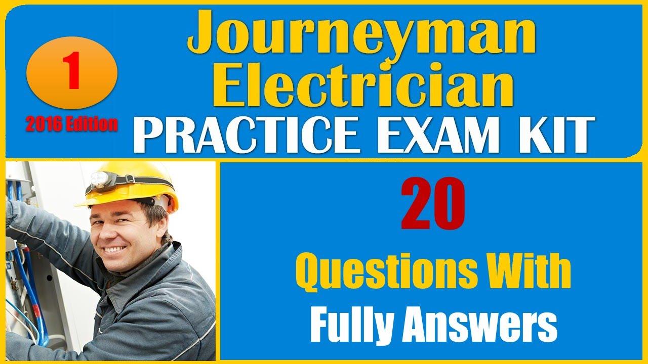 Journeyman Electrician Practice Test Pdf