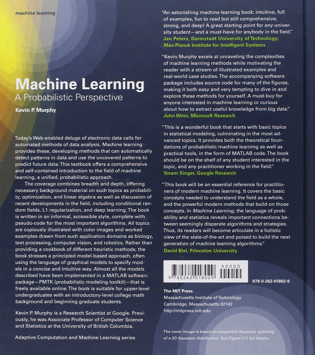 Machine Learning A Probabilistic Perspective Pdf Download