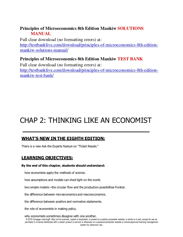 Mankiw Principles Of Economics Pdf 6th Edition