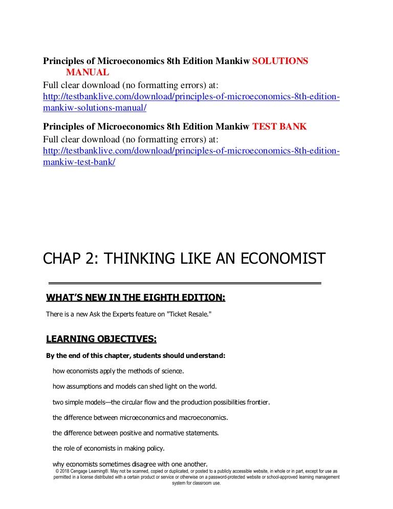 Mankiw Principles Of Economics Pdf 6th Edition