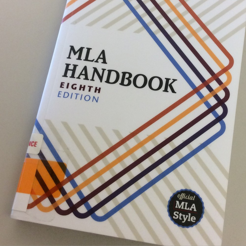 Mla Handbook 8th Edition Pdf Free Download