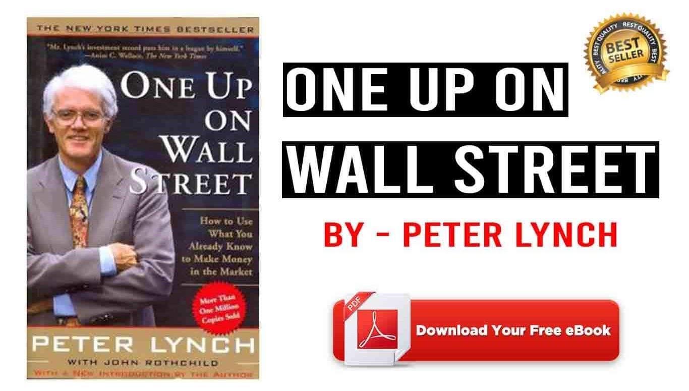 One Up On Wall Street Pdf Reddit