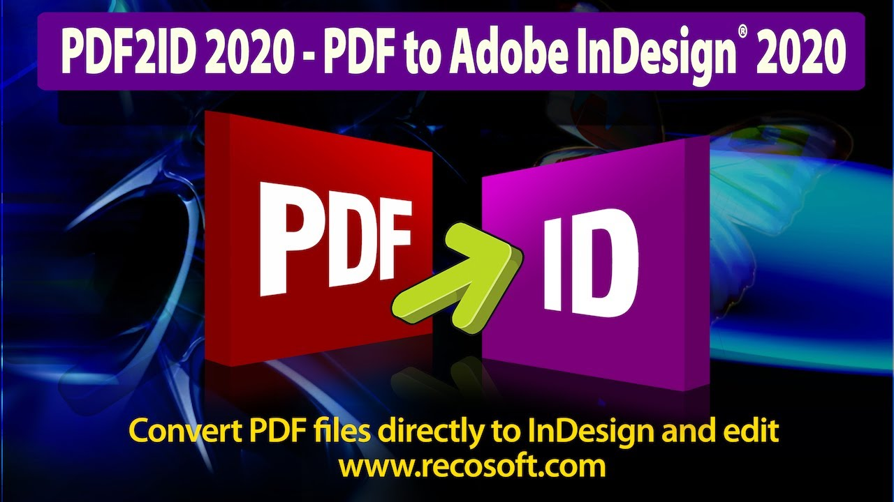 Pdf To Indesign Conversion Plug In