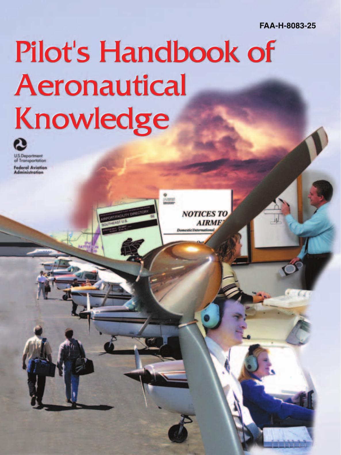 Pilots Handbook Of Aeronautical Knowledge Pdf