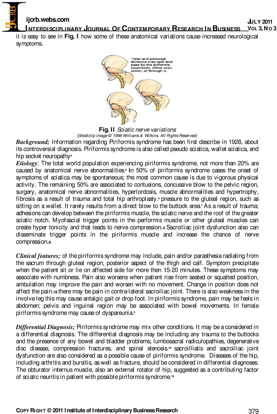 Piriformis Syndrome Exercises Pdf