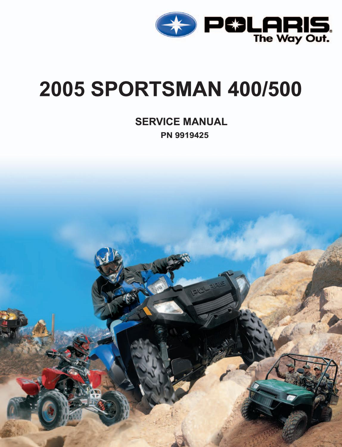 Polaris Service Manual Pdf