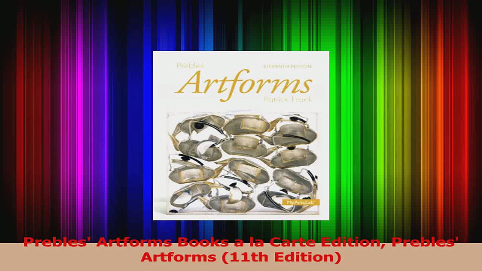 Prebles Artforms 11th Edition Pdf