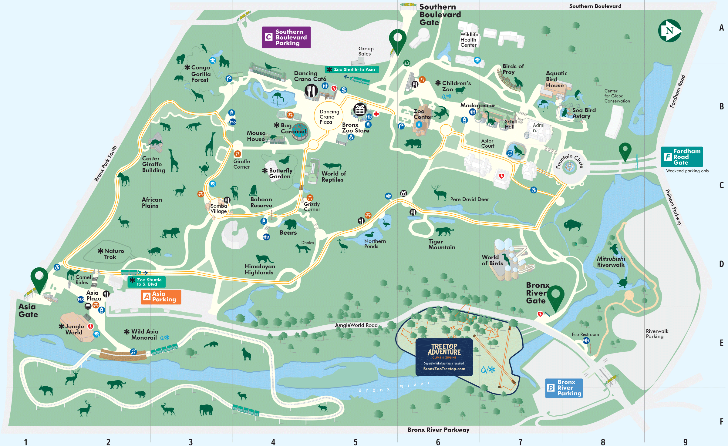 Printable Central Park Map Pdf