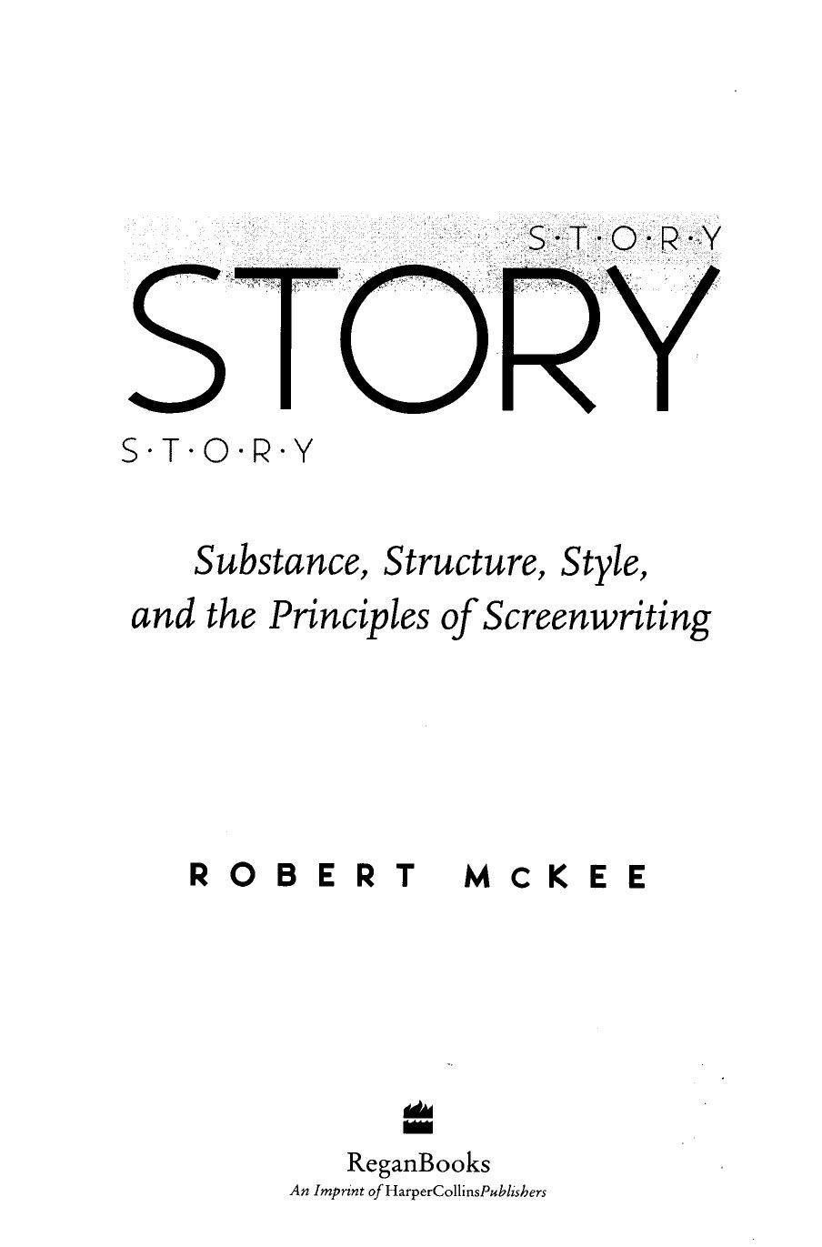 Robert Mckee Story Pdf